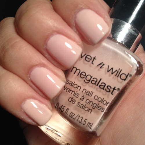 #notd @wetnwildbeauty #wetnwild #sugarcoat #nailswatch (Taken with Instagram)