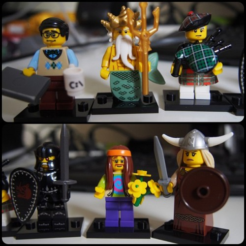 New series 7 #minifigs #omd  (Taken with Instagram)