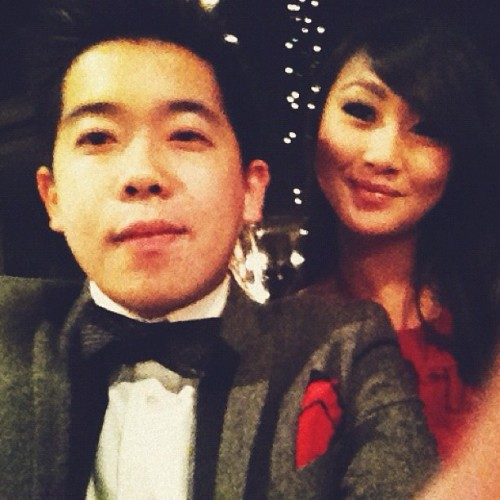 Me and my date @xevelynlinx at the #redrosesprom (Taken with Instagram at Royal Vista Golf club)