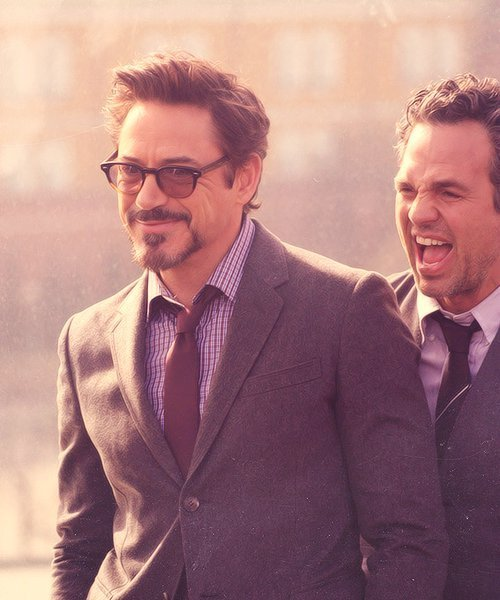 "all-the-beautifultimes:  Bruce: ""FUCK YEAH! We're science bros!"""