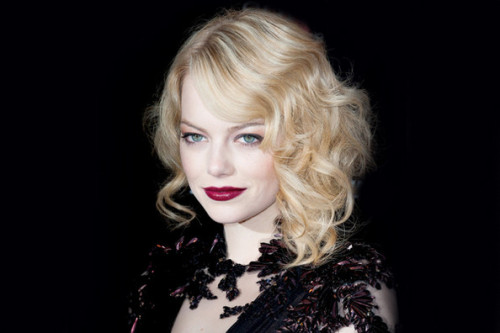 Emma Stone, The Amazing Spider-Man premiere, Paris, 2012