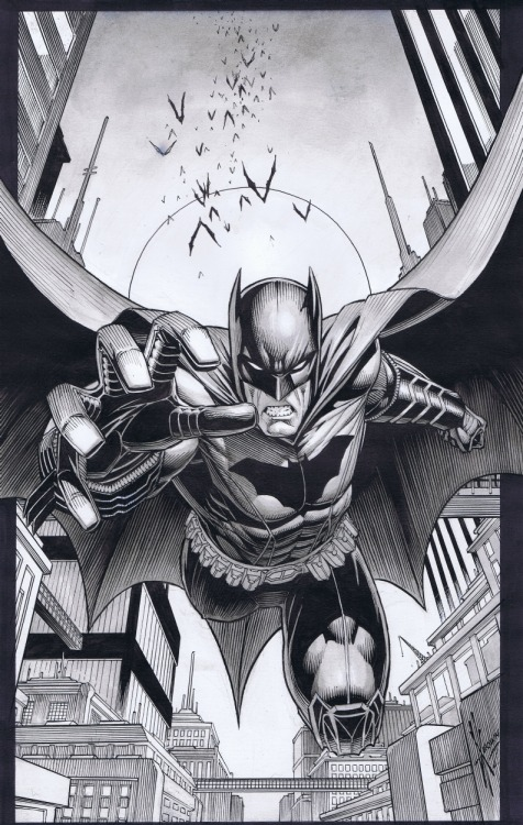 theenmity:  Batman by Dale Keown