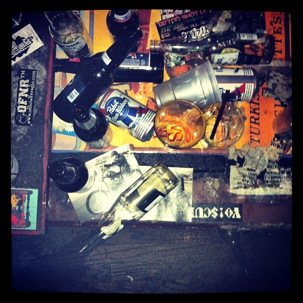 Trashed (Taken with Instagram at Trash Bar)