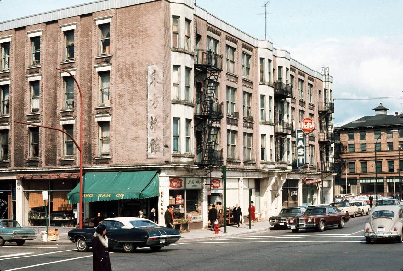 East Hotel, 445 Gore Avenue, 1972 Source: City of Vancouver Archives #780-452