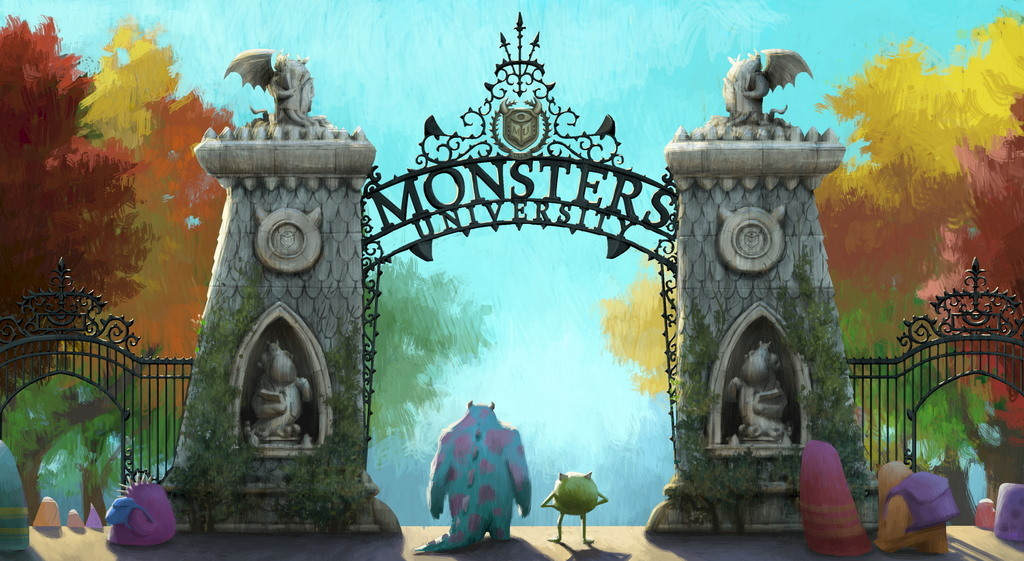 Pixar's Monsters University.  Enough said.  Trailer also fun.