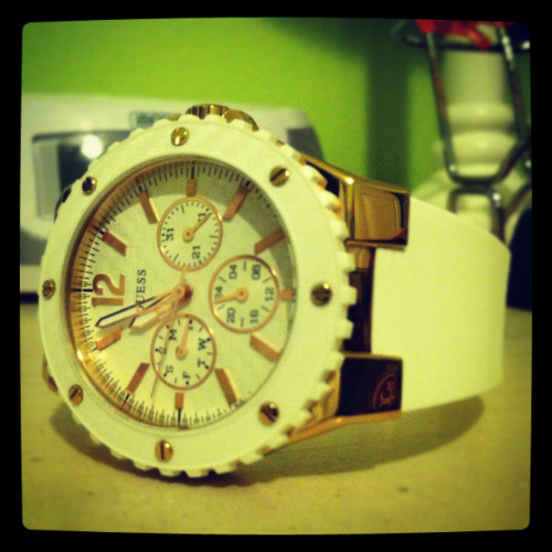 New watch for clinical and my new job as a nurse intern :) LOVE!