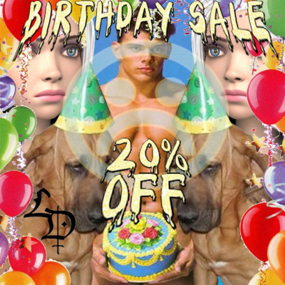 It's my Birthday so I'm having a SALE 20% off everything in the store…even resins! Today only 6/23/12 At check out Enter code: CAKE  SHOP