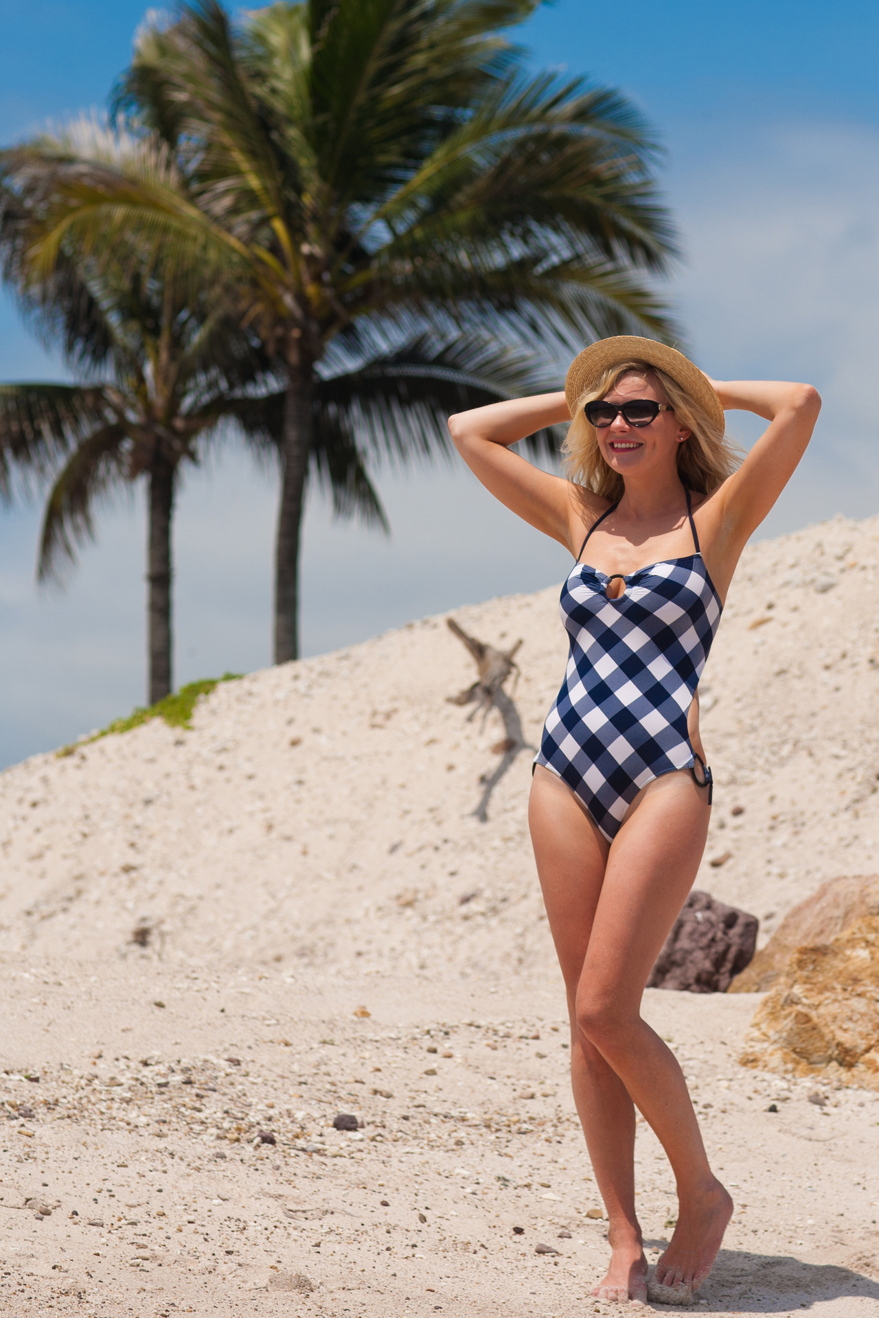 Finally found an ID on this swimsuit that Kirsten Dunst is wearing here - it's from Eres Sping/Summer 2012 collection.
