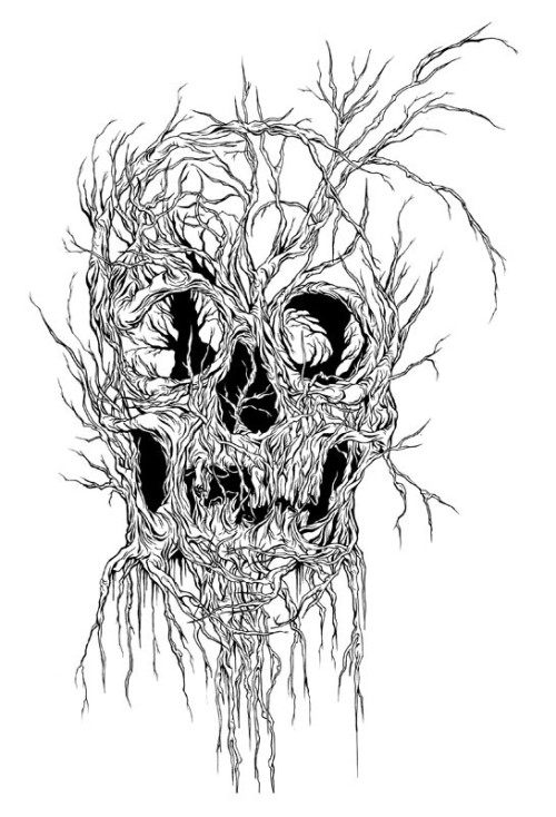 Alex Pardee drawing I'm getting for a side or thigh tattoo