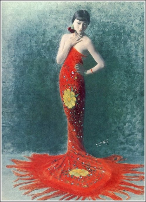 "windypoplarsroom:  Edward Sheriff Curtis  ""Anna May Wong, (1925 )"""