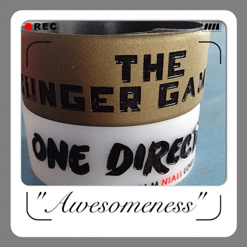 #HungerGames & #1D #baller #instagram #photography #iphone  (Taken with Instagram)