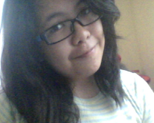 HAII GUYSS :DD long time no blog. xD excuse my hair and ze ugly faisu, i just woke up from my nap. ;_; sooo i just wanna update about my life. (lol) i just got my new glasses. :DD my brother said it looks hipster. :| /shoots self lol i don't care, i still like it. :D and other updates about my life: my junior year is starting out perfectly with all my cool classmates! (and my crush lolol) :> though our band club hasn't started a meeting yet because of exams and shiz. (FFUUUUUUU-) so i'm gonna wait again this wednesday. T_T but i'm still excited. :DDD LET THE K-ON DAYS BEGIN! :3