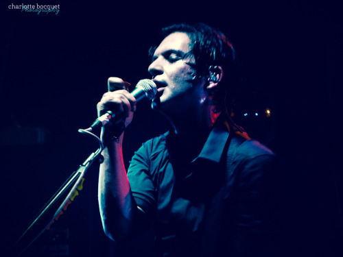 chamolko:  Brian Molko @ Le Bataclan, Paris.A Rock** Mercedes Benz presents Placebo live in concert. Huge night !