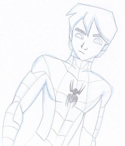 Spectacular Spider-Man! Peter is fun to draw. Who next? Ben Reilly, perhaps?