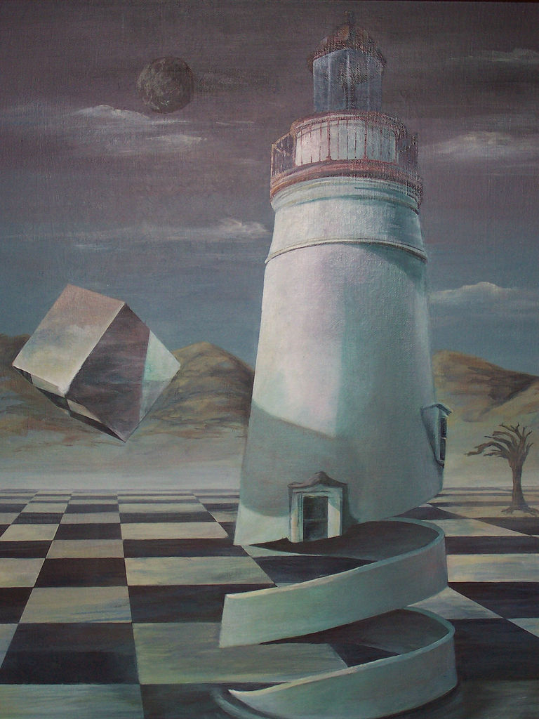 incomprehensus:  Surreal Lighthouse (di naughti biscotti)