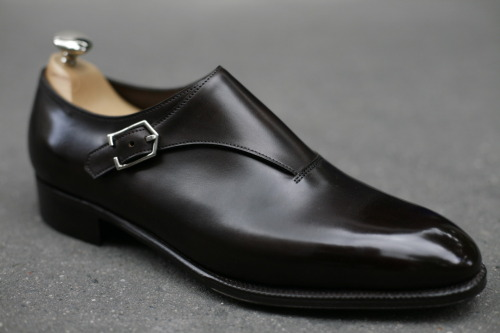John Lobb - Jermyn III Dark Brown Museum Calf