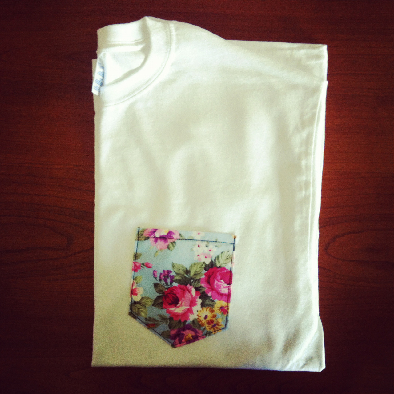 Patchwork Apparel, Floral print pocket shirt. Pick it up from our webstore now for only £12. http://patchworkapparelstore.bigcartel.com/
