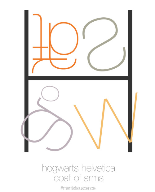 Hogwarts Helvetica Coat of Arms