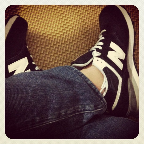 #newbalance#idaily (Taken with Instagram)
