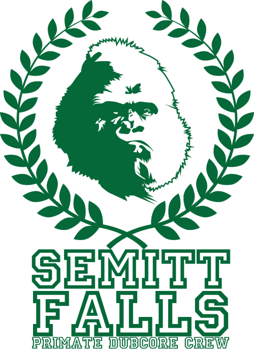 The Semitt Falls Primate DubCore Crew….T-Shirt design for my band