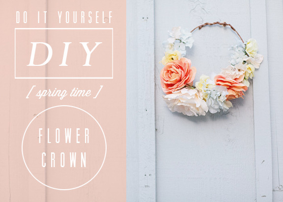 DIY FLOWER CROWN (via Kelli Murray's Blog)