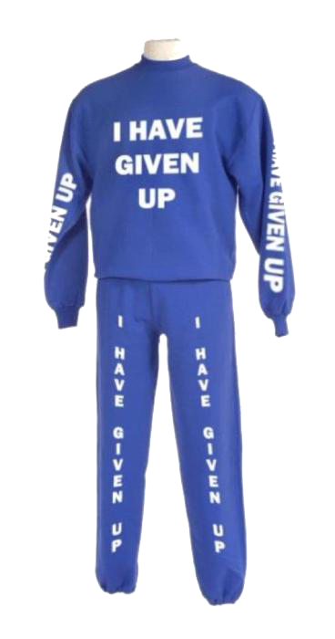gingermob:  Capstone final presentation sweatsuit. Good call, Kiran.