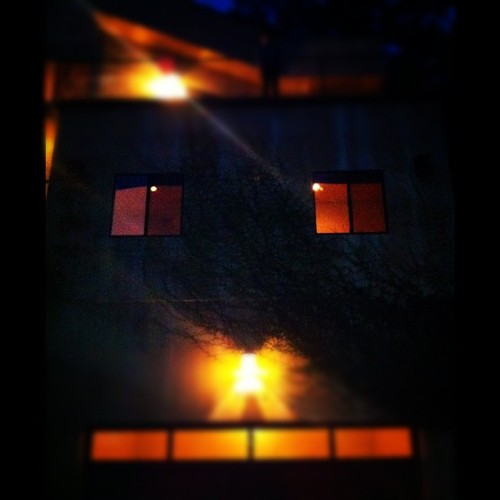 Spooky face of the new home  (Taken with Instagram)