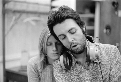 Paul and Linda McCartney, 1970.