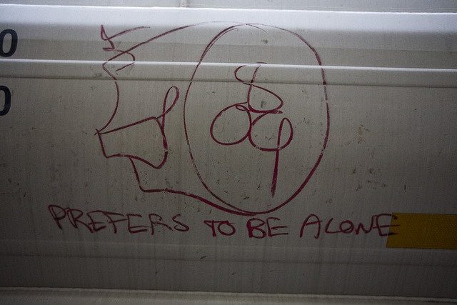 ~ Whistleblower ~ Graffiti on a Train in Seattle, WA 4-24-12 by xXxBrianxXx on Flickr.