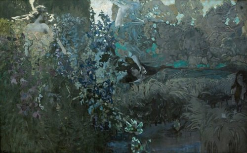 23silence:  Mikhail Vrubel (1856-1910) - Morning