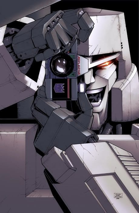 Superb Megatron/Killing Joke art mash!