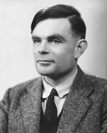 I prefer Alan Turing smiling than this:FUCKING PIECE OF JUNK YOU CALL ART:   YOU FUCKING IGNORANT PHILISTINES.