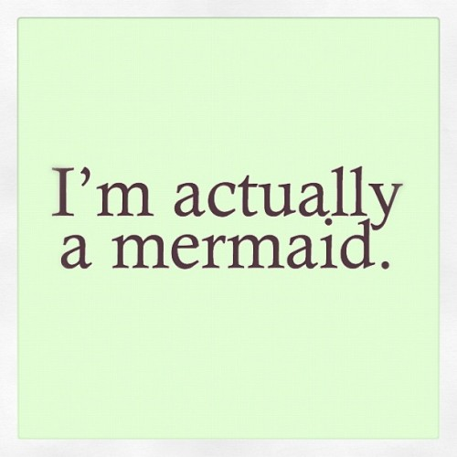 elybi:  #beach #sea #ocean #shell #mermaid #text #qoute (Taken with Instagram)