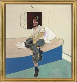 Francis Bacon, Study for Self-Portrait, 1964.