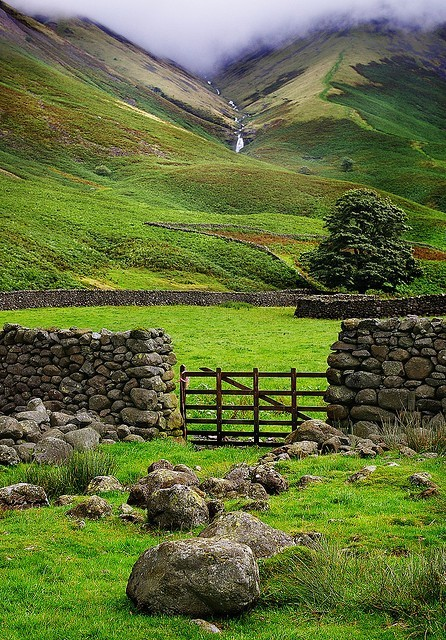 The Lake District, England photo via wasbella