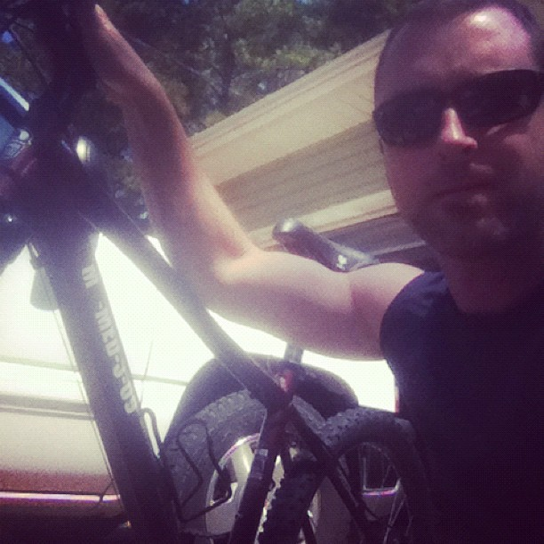 Day bike training for my first triathlon (Taken with Instagram)