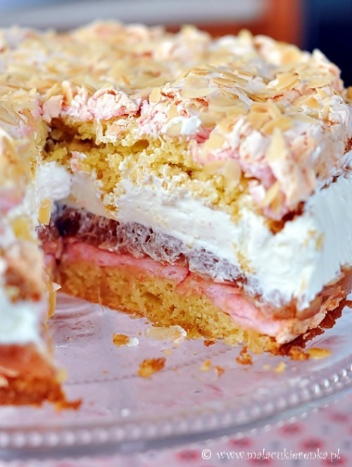 gastrogirl: Rhubard Pie with Meringue and Whipped Cream … mmmMMMmmmake!!