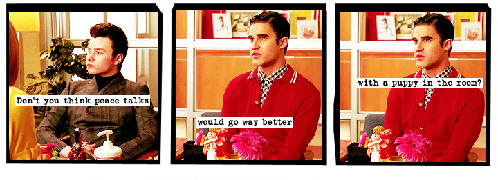 asofterworldofglee:  maybe two puppies, if you really want peace.
