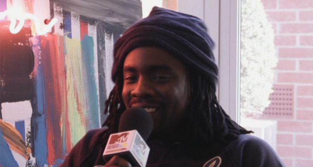 fuckyeahwale:  Wale shares his motivation with MTV Voices