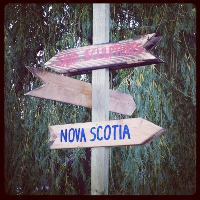Which way to Nova Scotia? (Taken with Instagram)