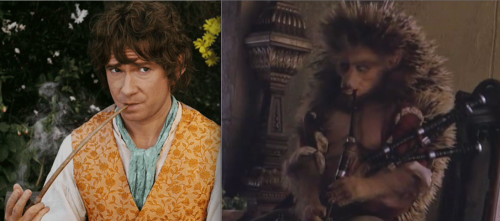 Martin Freeman would have been perfect in Hans My Hedgehog (from Jim Henson's The Storyteller) because HE ALREADY IS A HEDGEHOG! And then he would've had to play bagpipes, which just makes it even better!