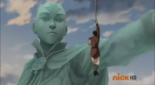 jasjuliet:  natureflowing:  Always looking out for us Aang  Anyone else hoping he'd say Grandfather?