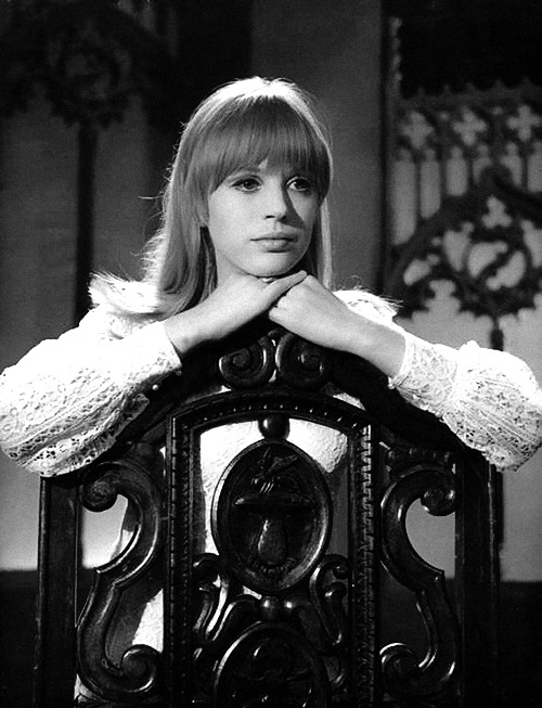 theswinginsixties:  Marianne Faithfull, 1966.