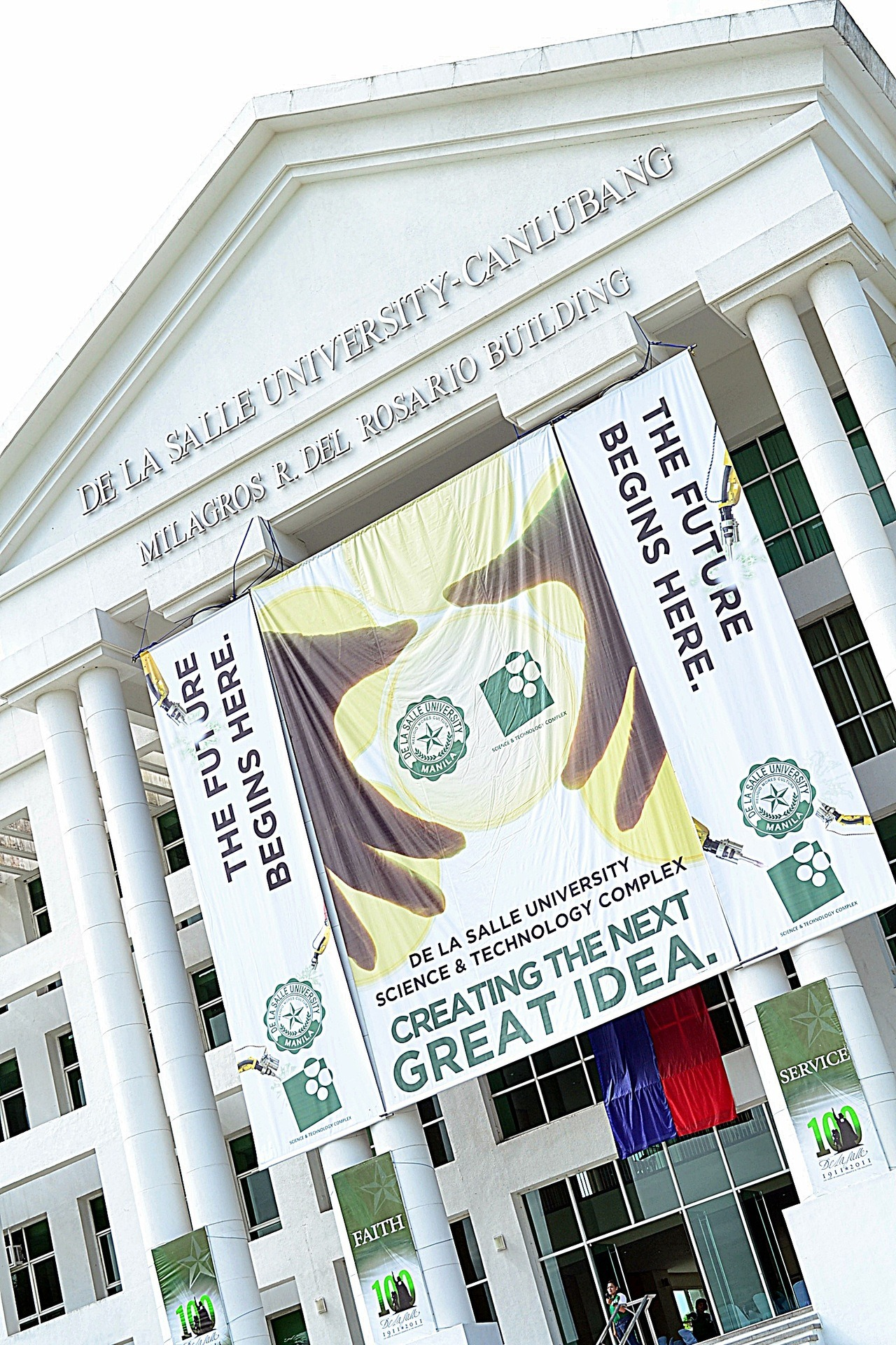 akosiramon:  CREATING THE NEXT GREAT IDEA. De La Salle University - Science and Technology Complex