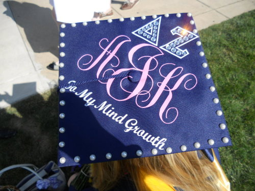 sororitycraft:  Graduation Cap!