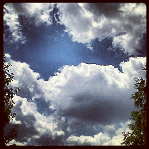 Sky's of Blue (Taken with Instagram)