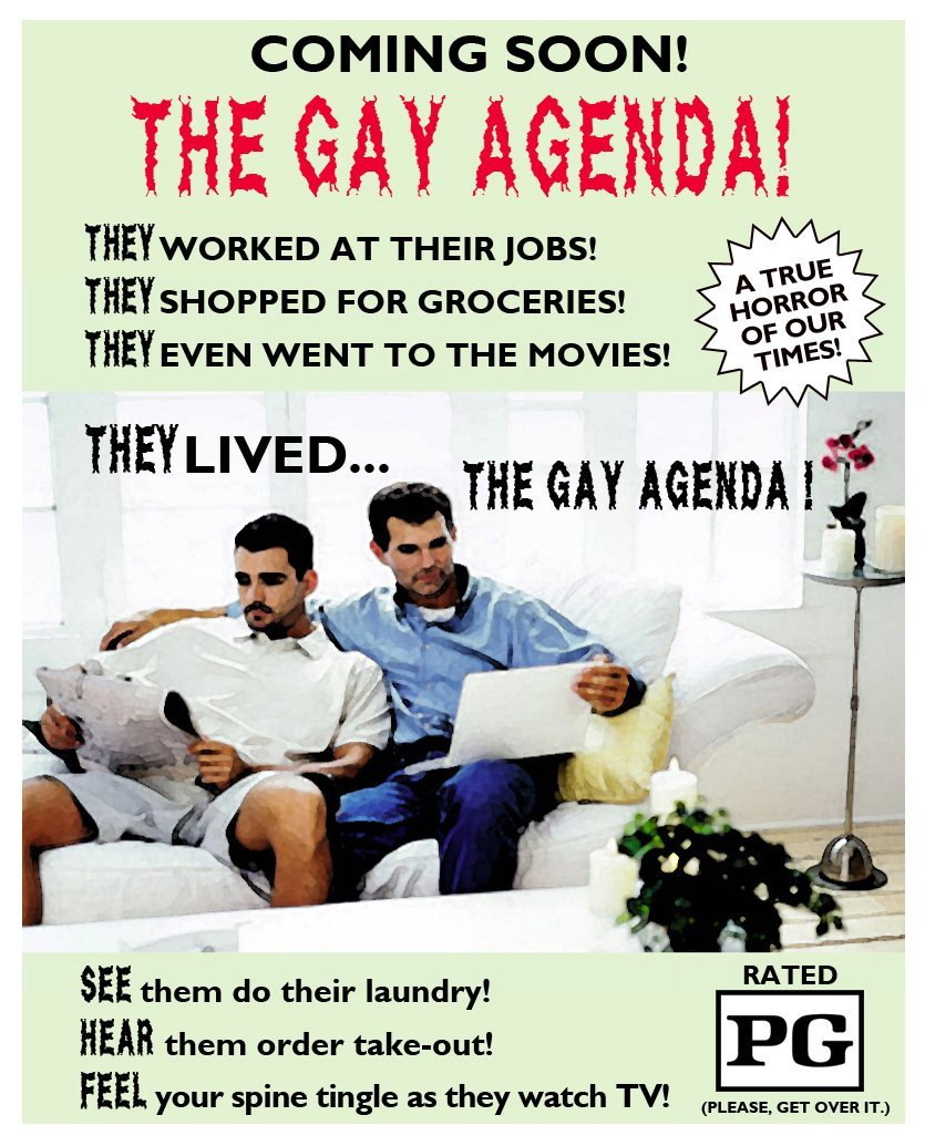 honeybadgertactics:  Noooo it's the evil gays!!!!!!!!!!!!!!!!