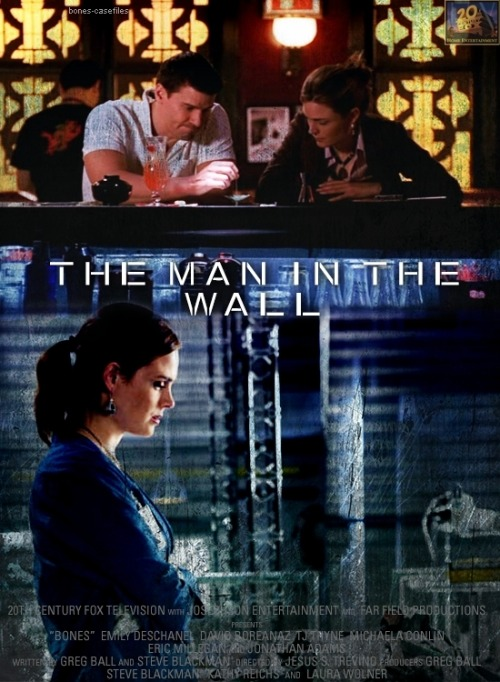 episodes as movie posters | 1x06 The Man in the Wall