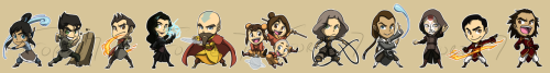Stickers: Legend of Korraby ~forte-girl7