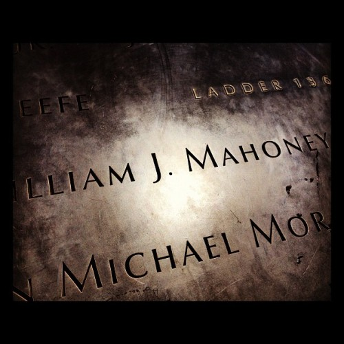 Taken with Instagram at National September 11 Memorial at World Trade Center